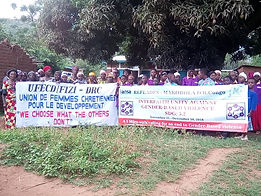 refeades IANSA ufecd fizi 16 days of activism campaign against gender-based gun violence SDG 5.2 Congo DRC
