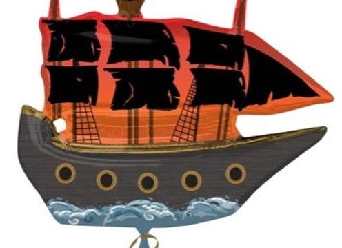 Piratenschip folieballon