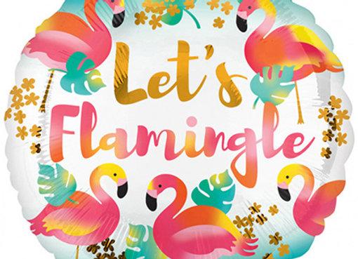 Helium Let's Flamingle