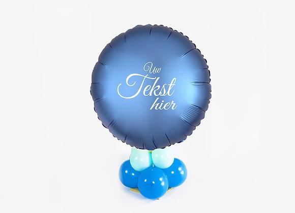 Cadeauballon - Top Blauw