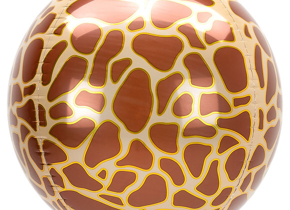 Helium bol girafprint