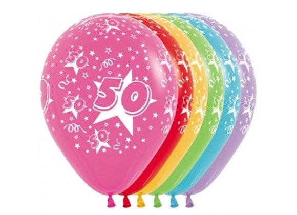 Zak losse ballonnen: 50 jaar
