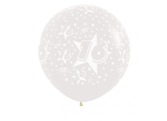 Zak losse ballonnen: 16 jaar