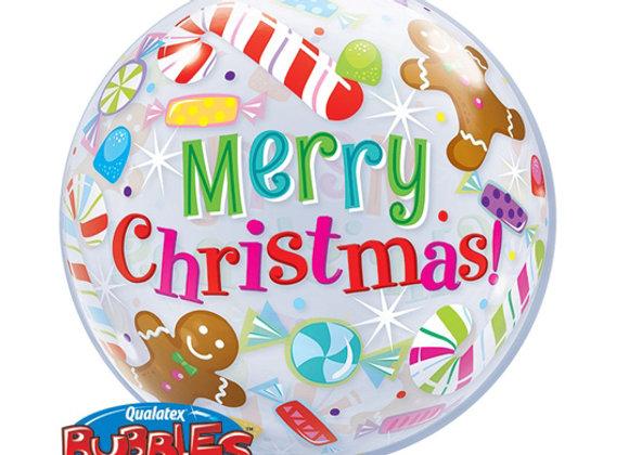 Helium bol Merry Christmas