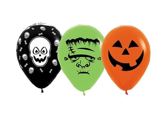 Zak losse ballonnen: Halloween