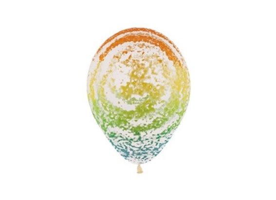 Zak losse ballonnen: Graffiti rainbow