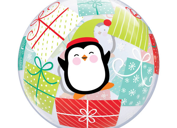 Helium bol Christmas Penguin