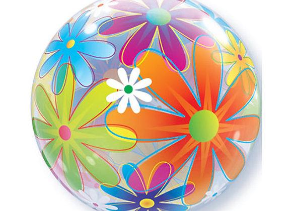 Helium bol bloemen
