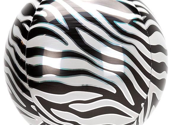 Helium bol zebraprint
