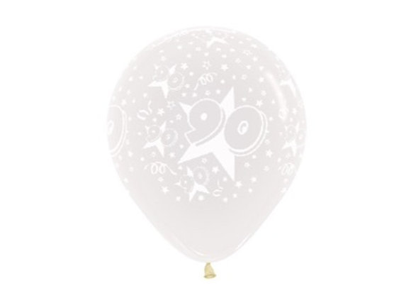 Zak losse ballonnen: 90 jaar