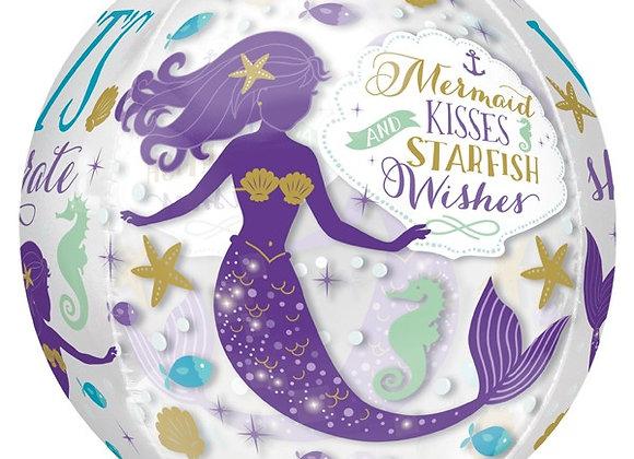 Helium bol Mermaid