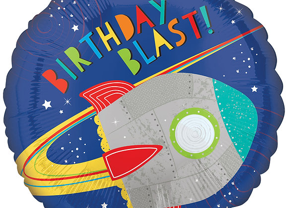 Helium Rocket Birthday Blast