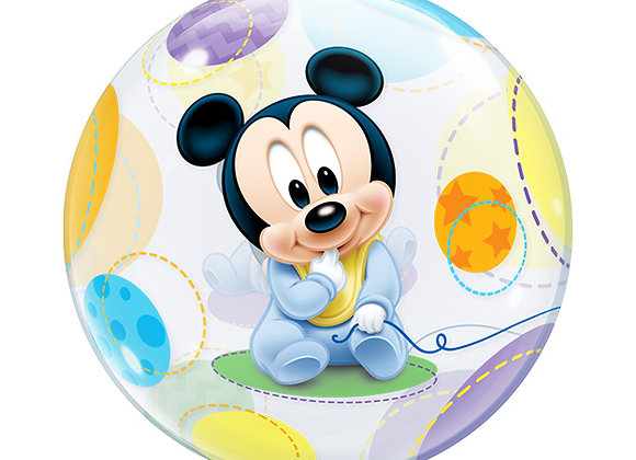 Helium bol Baby mickey mouse