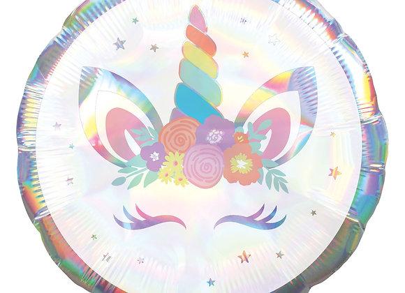 Helium rond eenhoorn