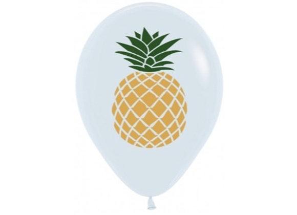 Zak met losse ballonnen: Pineapple
