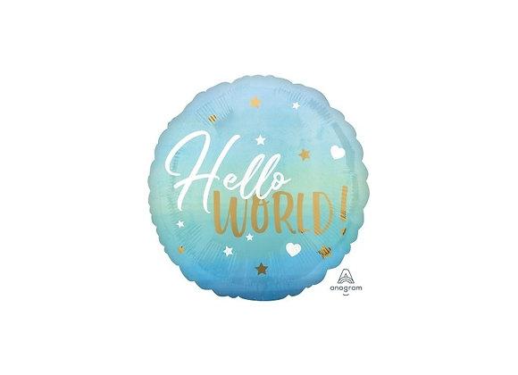 Helium Hello World Blauw