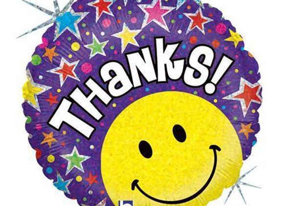Helium Thanks Smiley