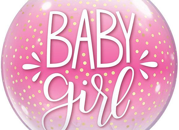 Helium bol Baby Girl