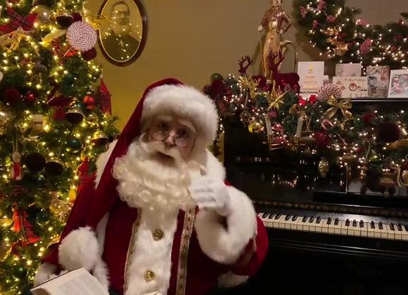 Videoboodschap Kerstman