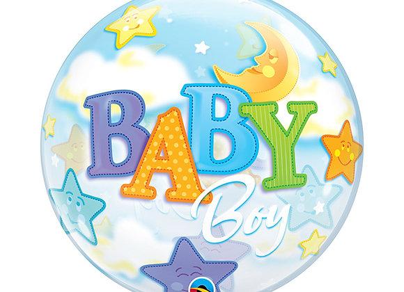 Helium bol Baby Boy stars