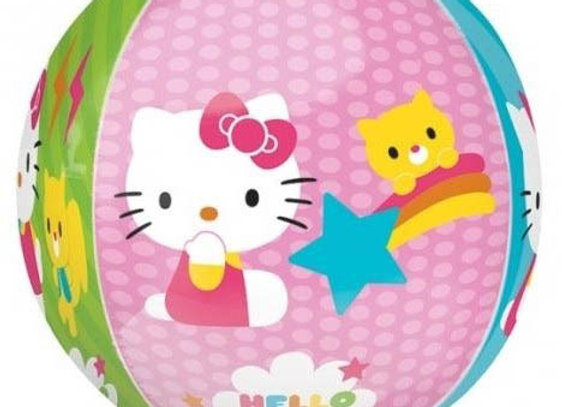 Helium bol Hello Kitty