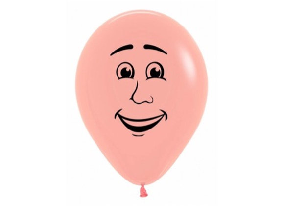 Zak losse ballonnen: Man face