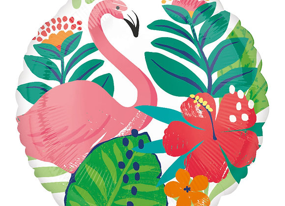 Helium Tropical Flamingo