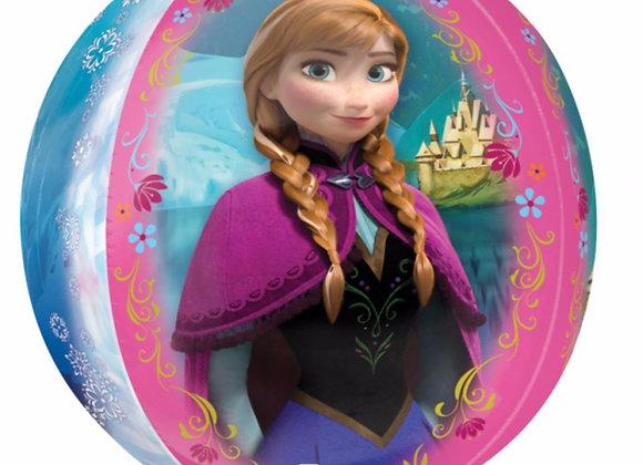 Helium bol Frozen Anna/Elza/Olaf
