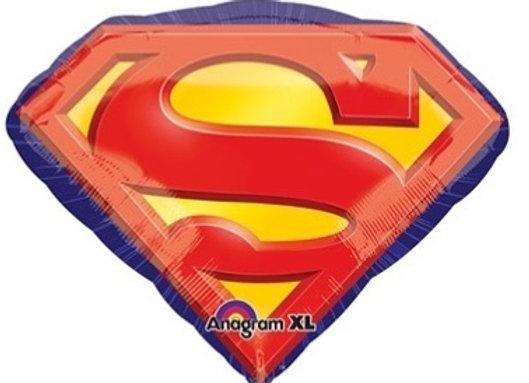 Superman logo follieballon