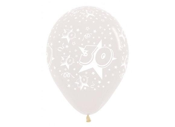 Zak losse ballonnen: 30 assortiment