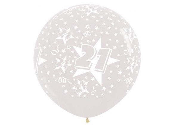 Zak losse ballonnen: 21 jaar