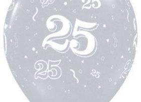 Zak losse ballonnen: 25 jaar