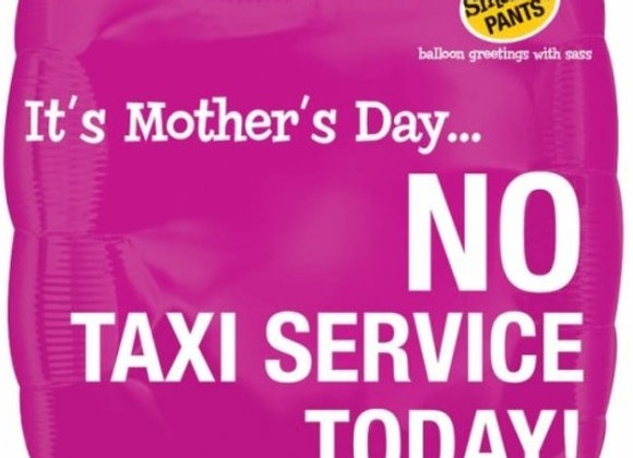 Helium Mothersday No Taxi