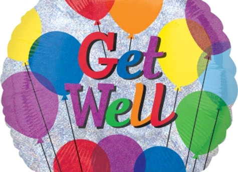 Helium rond Get Well