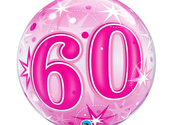 Helium bol fuchsia 60