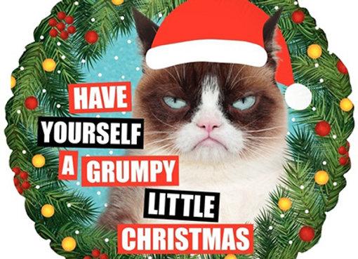 HeliumXmas Grumpy Cat