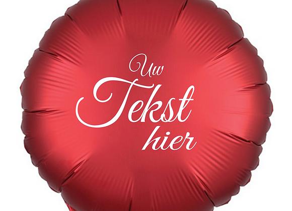 Helium rond rood