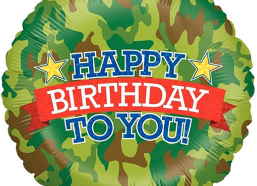 Helium leger Happy Birthday