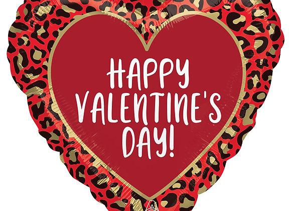 Helium Hart valentine leopard