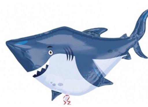 Shark folieballon