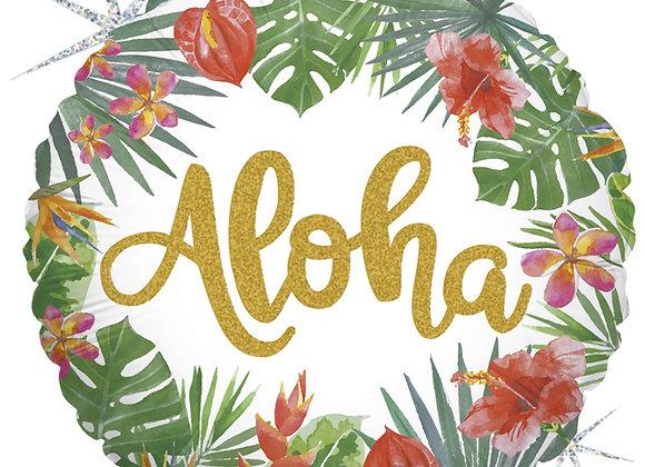 Helium rond Aloha