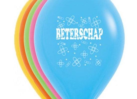 Zak losse ballonnen: Beterschap assortiment