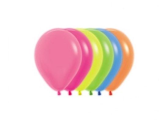 Zak losse ballonnen: Neon