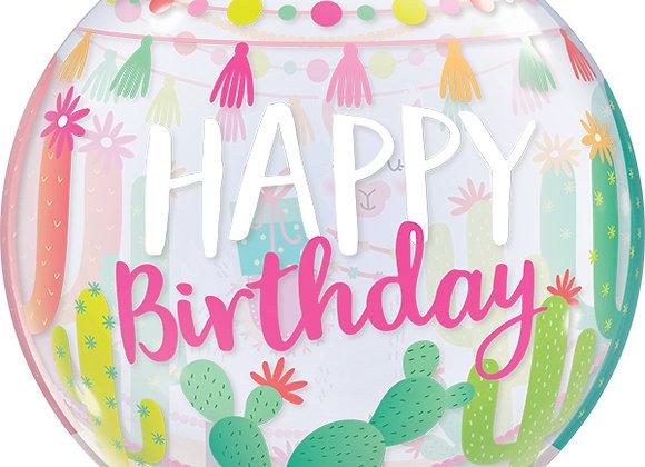 Helium bol Lama Happy Birthday