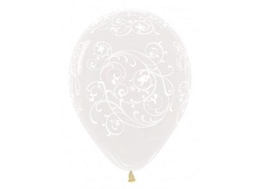 Zak losse ballonnen: All over filigree