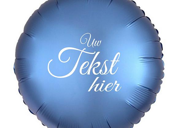 Helium rond blauw