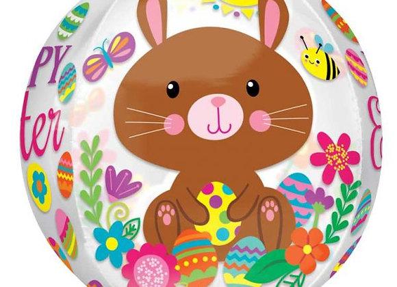 Helium bol Easter Bunny