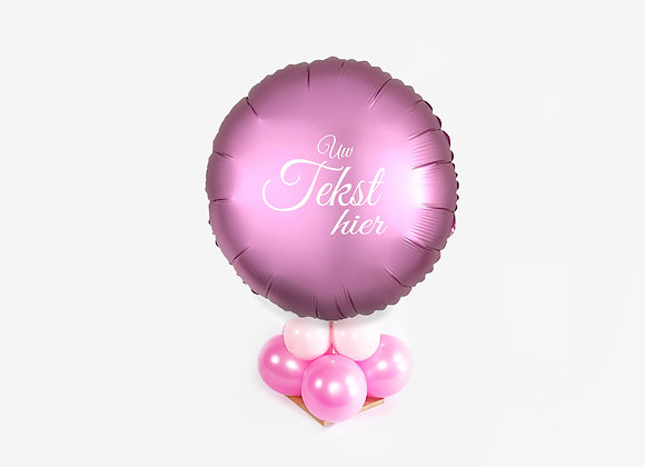 Cadeauballon - Top Roze