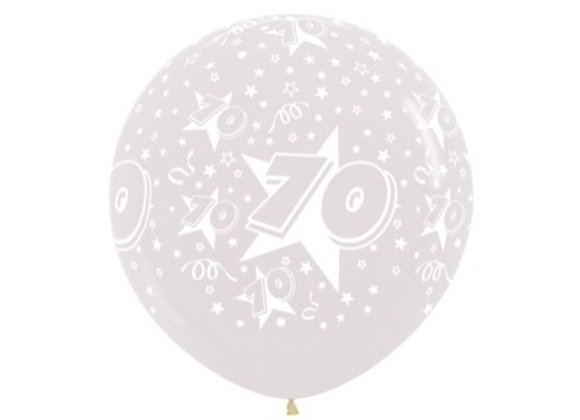 Zak losse ballonnen: 70 jaar