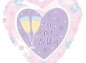 Wedding folie ballon